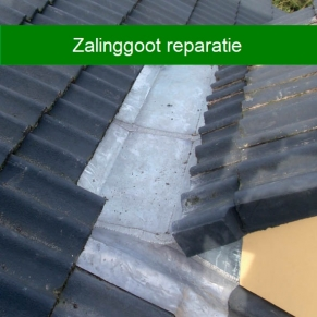 Zalinggoot reparatie