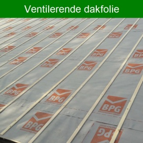 Ventilerende dakfolie
