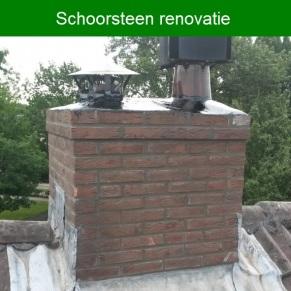 Schoorsteen renovatie
